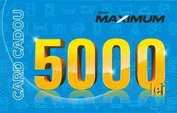 купить Сертификат подарочный Maximum 5000 MDL в Кишинёве