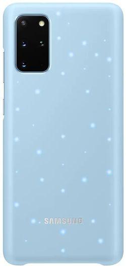cumpără Husă pentru smartphone Samsung EF-KG985 LED Cover Sky Blue în Chișinău