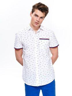 Рубашка TOP SECRET Белый/принт sks1064bi.