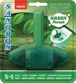 Suspensie pentru toaletă Sano Bon Green forest 55 g