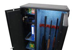 Оружейный сейф Luka RV-620/7/1E/1M