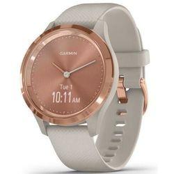 купить Смарт часы Garmin vivomove 3S, S/E EU, Rose Gold, Light Sand, Silicone в Кишинёве