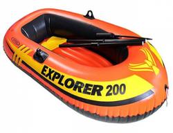 Barcă pneumatică Intex 58331NP Explorer 200 Set