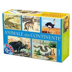 Joc de masă Animale din continente, cod 41170
