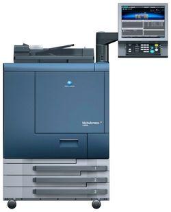 Konica Minolta bizhub PRO C6000L - sistem color de producție