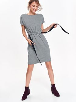 Платье TOP SECRET Черно-белый ssu2367
