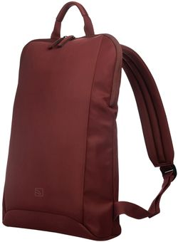 купить Рюкзак для ноутбука Tucano BFLABK-M-BX Flat Slim M Burgundy в Кишинёве