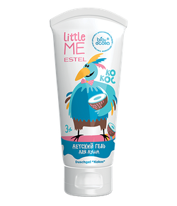Gel de duș, ESTEL Little Me, 3+, 200 ml., Cocos