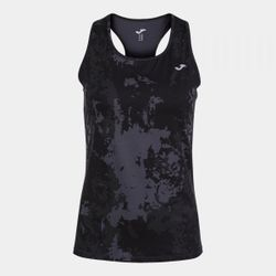 Футболка JOMA - INDOOR GYM TANK TOP BLACK GREEN