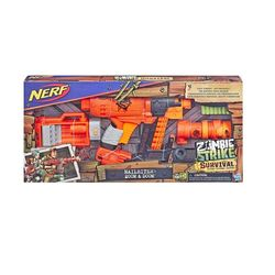 Бластер Nerf ZOMBIE NAILBITER ZOOM AND DOOM, код 43479
