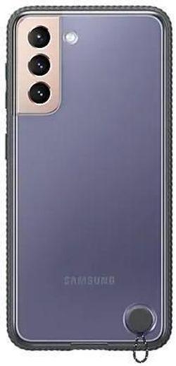 cumpără Husă pentru smartphone Samsung EF-GG996 Clear Protective Cover Black în Chișinău