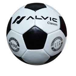 Мяч футбольный кожаный N5 Alvic Classic (490)