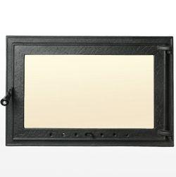 Дверца чугунная со стеклом Weekend - Regal