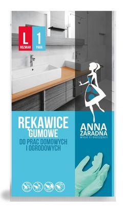 Резиновые рукавицы L Anna Zaradna