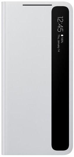 cumpără Husă pentru smartphone Samsung EF-ZG998 Smart Clear View Cover Light Gray în Chișinău
