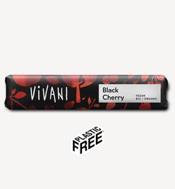Ciocolată cu neagră cu cireșe amare Vivani 35g