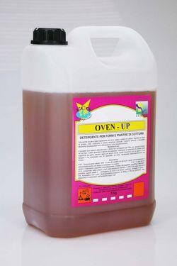 Oven UP, Суперобезжиривающее щелочное моющее средство для удаления нагара и очистки печей, 5 kg