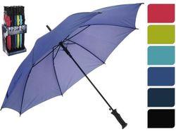Зонт-трость автомат одноцветный D104cm, 6цветов