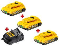 Acumulator și încărcător pentru scule electrice DeWalt DCB115P3 +Set