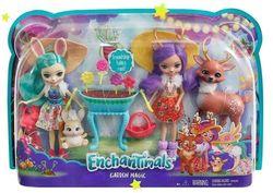 Набор из 2 кукол с любимыми зверюшками Enchantimals, код FDG01