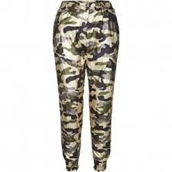 Pantaloni CO'COUTURE Camuflaj 71461 co couture