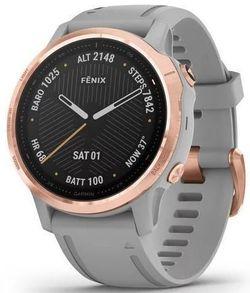 купить Смарт часы Garmin fenix 6S Sapphire,Rose Gold w/Gray Band в Кишинёве