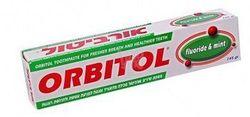 Зубная паста ментол Orbitol 145 г