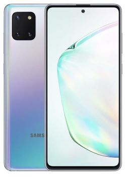 купить Смартфон Samsung N770/128 Galaxy Note 10 Lite Silver в Кишинёве