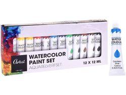 Набор красок акварельных 12шт x12ml