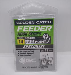 Крючки Golden Catch Feeder Nr14, 12шт