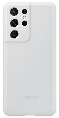 cumpără Husă pentru smartphone Samsung EF-PG998 Silicone Cover Light Gray în Chișinău