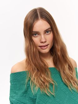 Pulover TOP SECRET Verde SBL0685ZI