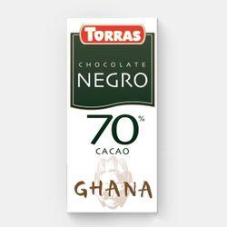 Шоколад темный Африка 70% без глютена Torras 125г
