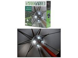 Огни для зонта на солнечной батарее D20cm