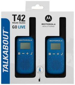 купить Рация Motorola T42 BLUE в Кишинёве