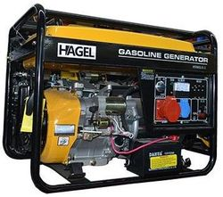 Генератор 6500CLE-3 AC 220/380В 5.5 кВ Бензин HAGEL