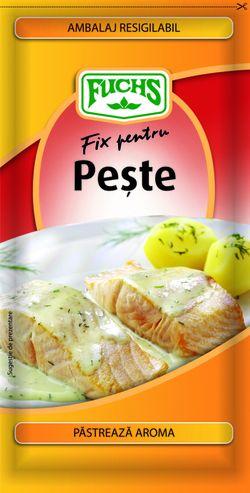 Fix pentru pește Fuchs plic 25g