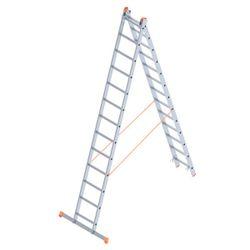 Лестница алюминиевая Sarayli Double Type A 2x13