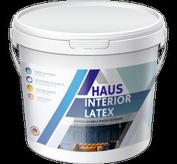 Краска водоэмульсионная интерьерная Haus Latex 12 кг