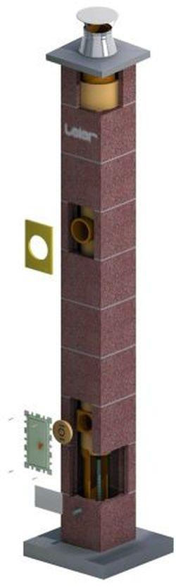 Дымоходная система керамическая - LEIER MULTIKERAM