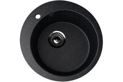 Chiuveta piatra Ulgran U-405 negru 495 x 495 x 190 mm