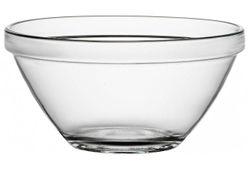 Salatiera 12cm 350ml Pompei, din sticla