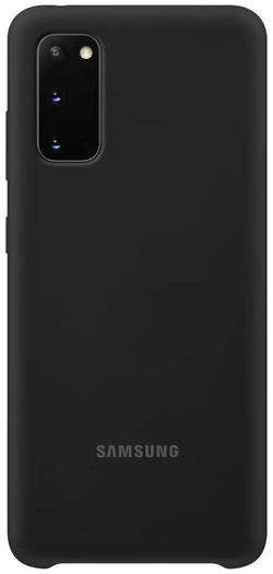 cumpără Husă telefon Samsung EF-PG980 Silicone Cover Black în Chișinău