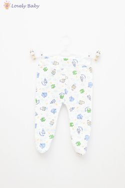 Pantaloni print broasca