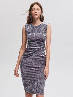 Платье RESERVED Серый vq875-09x