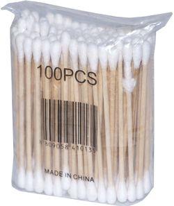 Bețișoare pentru urechi (din bambus și bumbac) 100