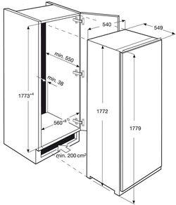 Frigider incorporabil Electrolux LRS4DF18S