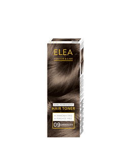 Оттеночный бальзам, SOLVEX Elea Hair Toner, 100 мл., 09 - Шоколад