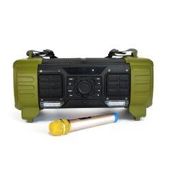 Boxa portabila, TEMEISHENG, 100 W, USB/SD Card, Bluetooth 4.0, 6 ore, Acumulator, Panou cu comenzi/Microfon/Telecomanda