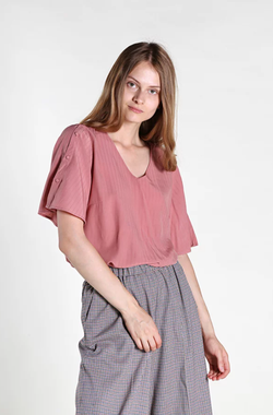 Блуза TOM TAILOR Светло розовый 1013598 10879